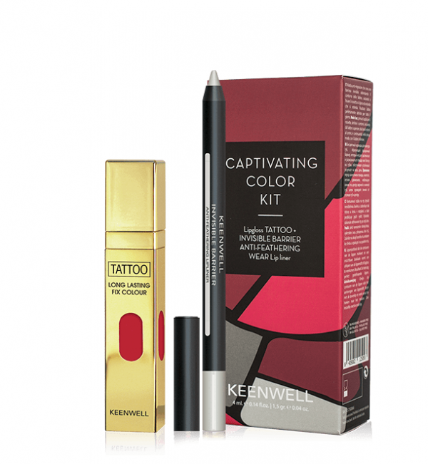 captivating color kit intuition keenwell lipgloss lip liner