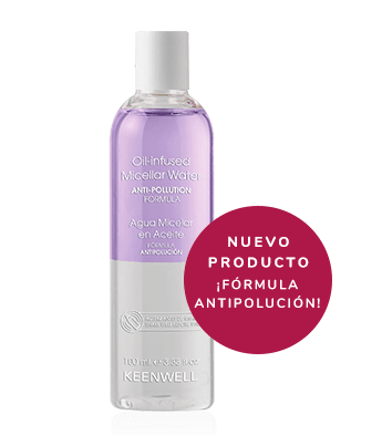 agua micelar en aceite intuition keenwell