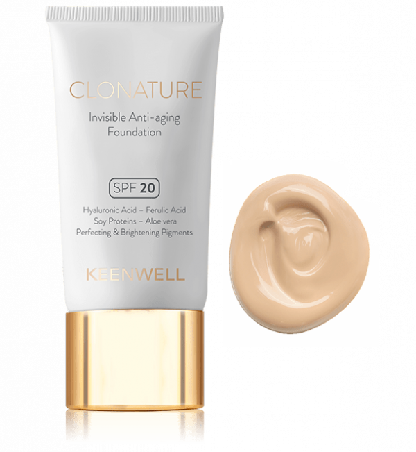 clonature keenwell maquillaje invisible